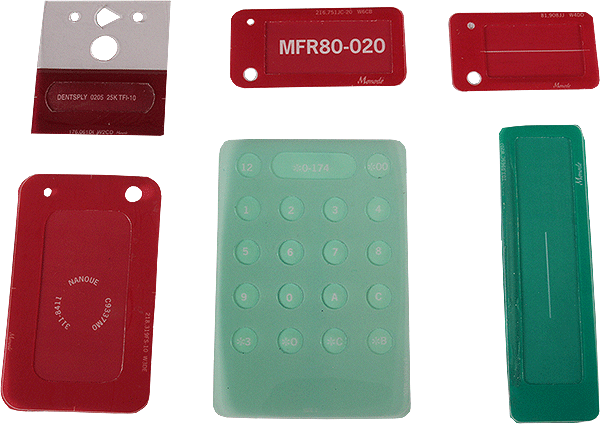 Monode Electrochemical Etching Stencils Pads Markers