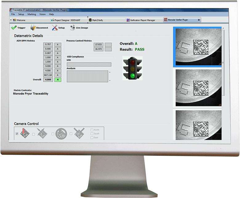 Monode Machine Vision Verification And Validation